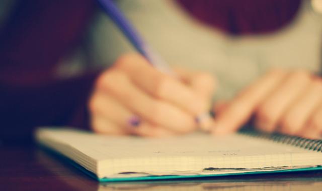 écrire quand on a pas le temps